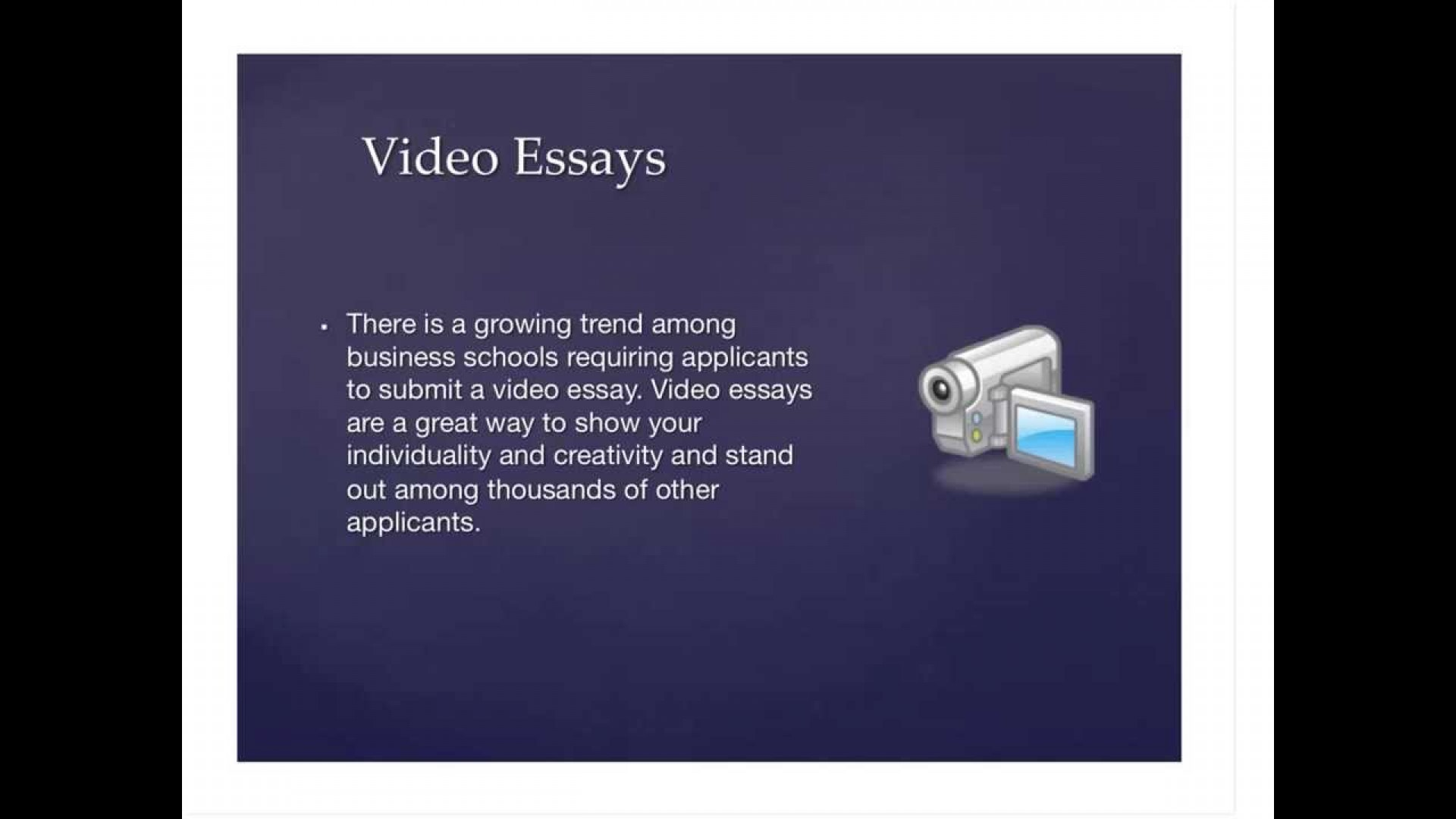 001 Video Essay Example Marvelous Definition Ideas College Examples 1920
