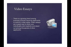 001 Video Essay Example Marvelous Definition Ideas College Examples