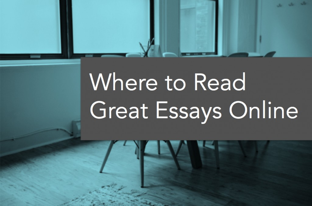 001 Wheretoread Essays Online To Read Essay Remarkable Short Best Large
