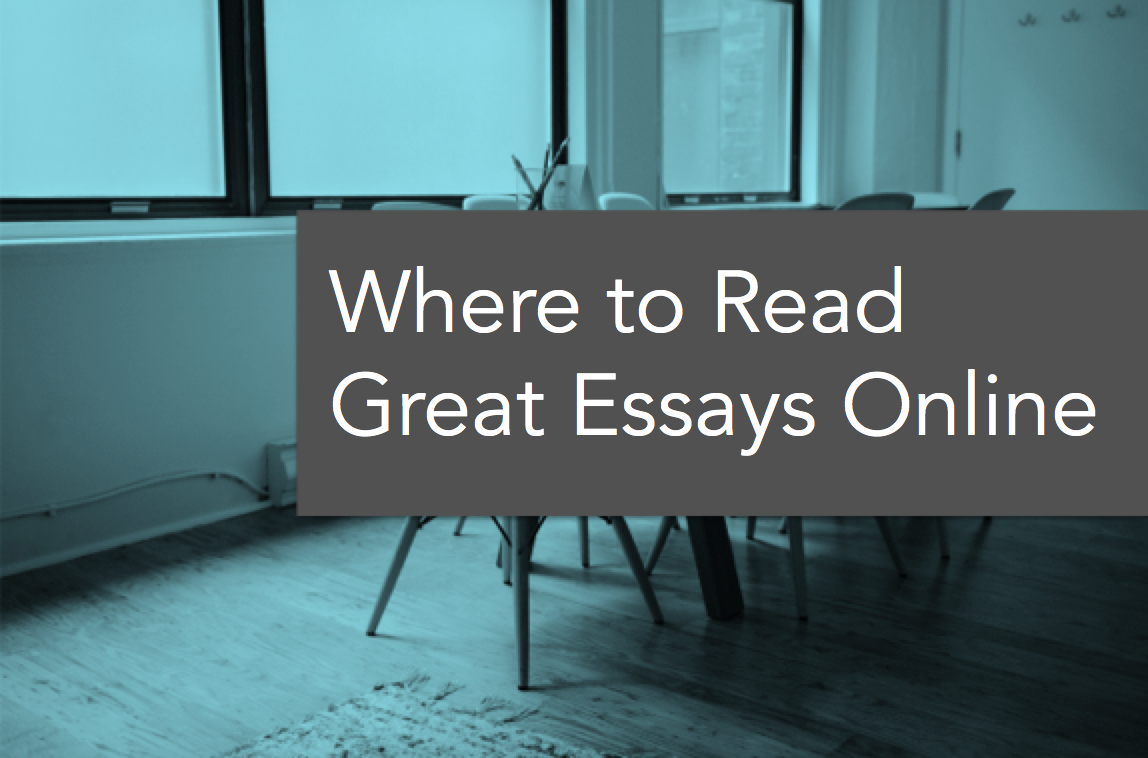 001 Wheretoread Essays Online To Read Essay Remarkable Free Best Full