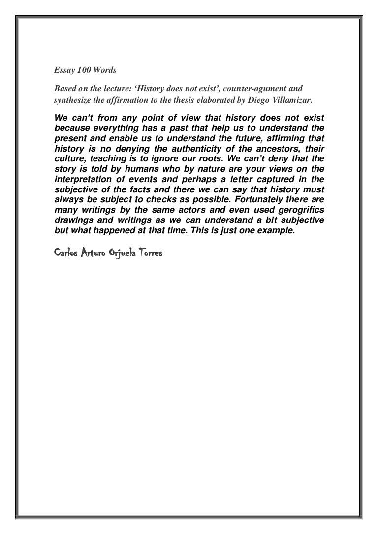 001 Word Essay Essay100wordsi Phpapp02 Thumbnail Sensational 100 On Leadership Topics Full
