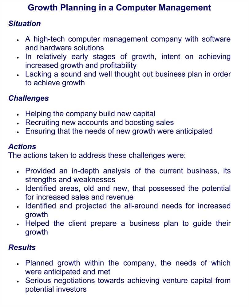 business case study examples pdf