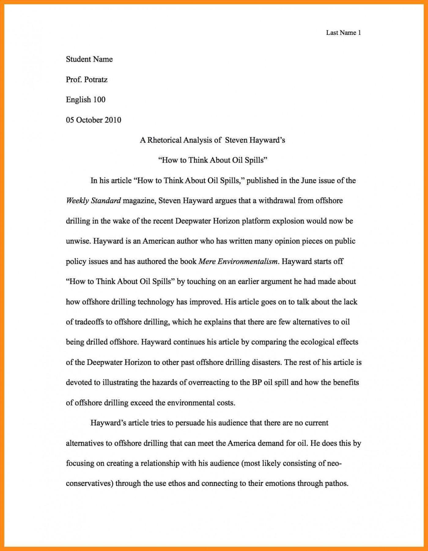 001 Write Best Rhetorical Analysis Essay Example Of Using Ethos Pathos And Logos Pdf Unusual Examples Ap Lang Mode 1400