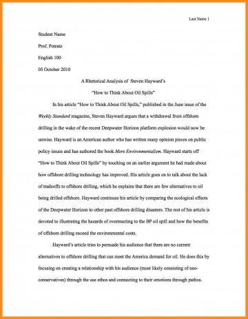 001 Write Best Rhetorical Analysis Essay Example Of Using Ethos Pathos And Logos Pdf Unusual Examples Ap Lang Mode 360