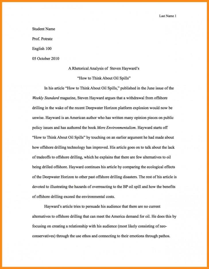001 Write Best Rhetorical Analysis Essay Example Of Using Ethos Pathos And Logos Pdf Unusual Examples Ap Lang Mode 728