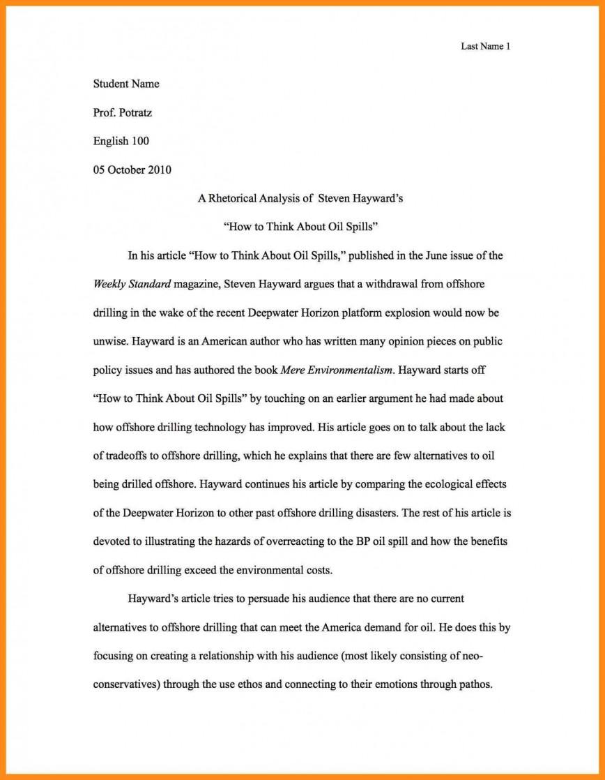 001 Write Best Rhetorical Analysis Essay Example Of Using Ethos Pathos And Logos Pdf Unusual Examples Ap Lang Mode 868