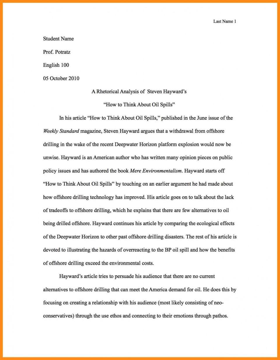 001 Write Best Rhetorical Analysis Essay Example Of Using Ethos Pathos And Logos Pdf Unusual Examples Ap Lang Mode 960