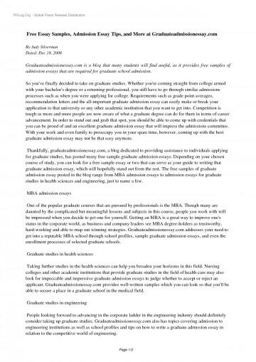 001 Yhn3ns0535 Free Sample Essay For Graduate School Admission Formidable Pdf 360