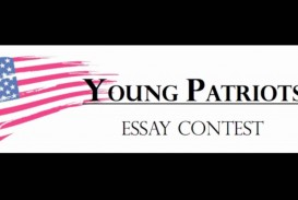 001 Young Patriots Essay Contest Surprising