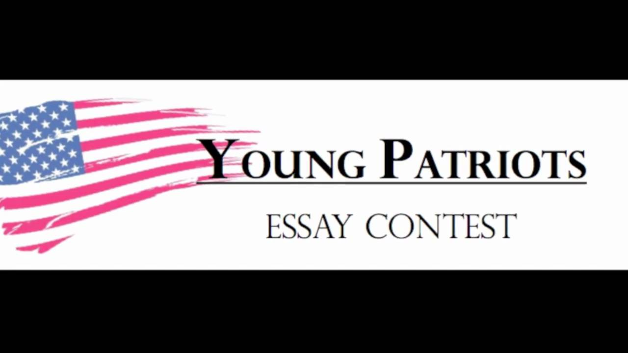 001 Young Patriots Essay Contest Surprising Full