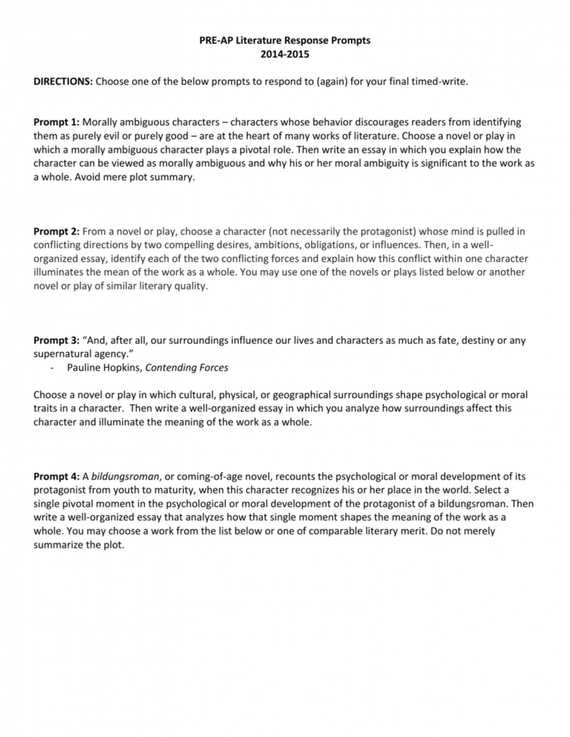 002 006690928 1 Ap Literature Essay Prompts Stunning List 2008 Macbeth 1920