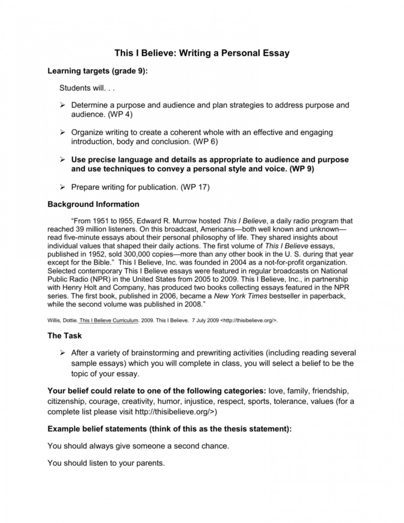 002 006750112 1 Essay Example This I Believe Fearsome Topics Funny Prompt 1400