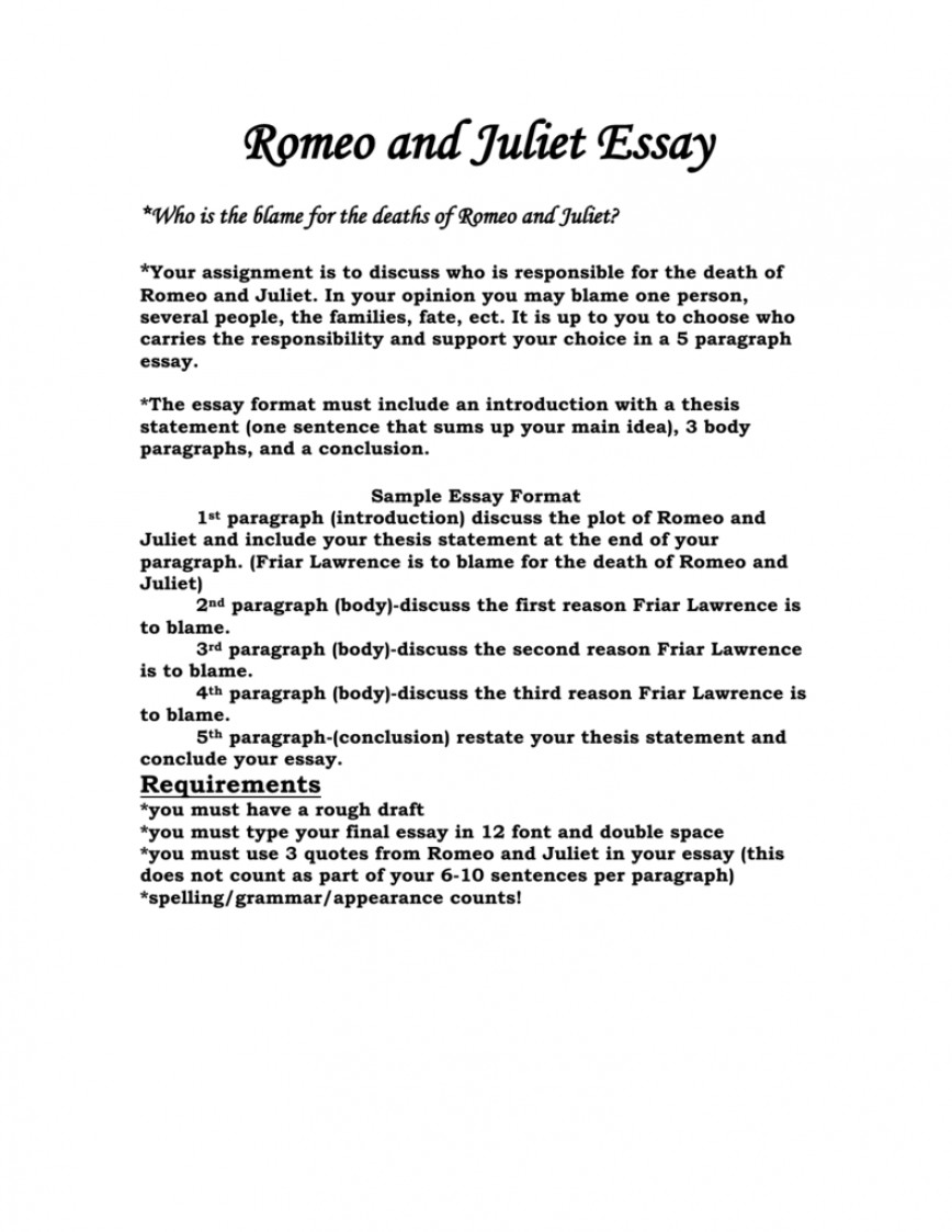 002 008013476 1 Romeo And Juliet Essay Impressive Argumentative Prompts Topics Pdf Prompt Who Is To Blame