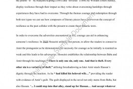 002 104561 Copyofthekiterunneressay41 The Kite Runner Essay Unforgettable Discussion Questions And Answers Literary Thesis Statements Book