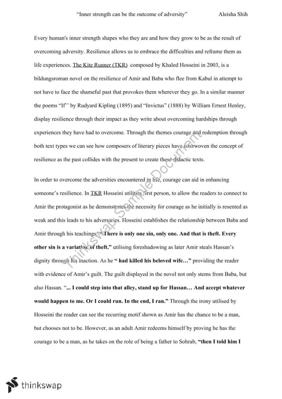 002 104561 Copyofthekiterunneressay41 The Kite Runner Essay Unforgettable Topics Questions Question