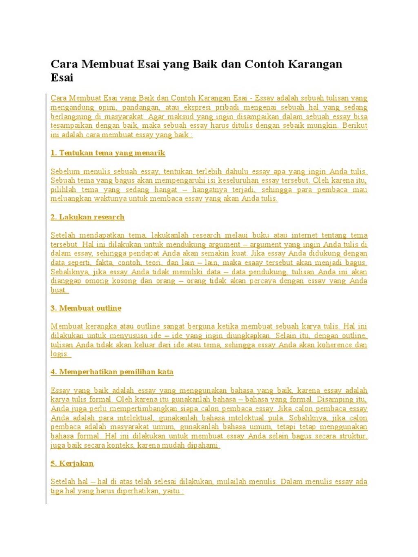 002 3224440225 Menulis Essay Lpdp Example Astounding Cara Membuat Argumentative Bahasa Indonesia Mudah Inggris Large