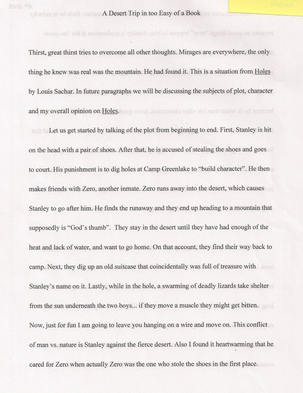 002 6th Grade Essay Topics Example Desert Surprising Reflective Narrative Writing Prompts Science Large