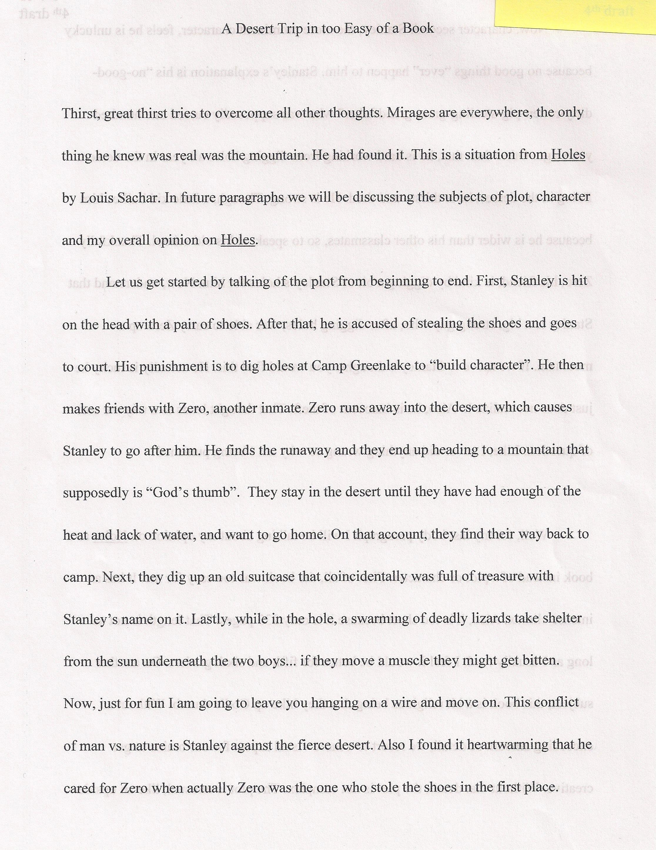 002 6th Grade Essay Topics Example Desert Surprising Reflective Narrative Writing Prompts Science Full