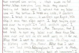 002 6th Grade Essays Sample1a Fantastic Essay Examples Informative Personal