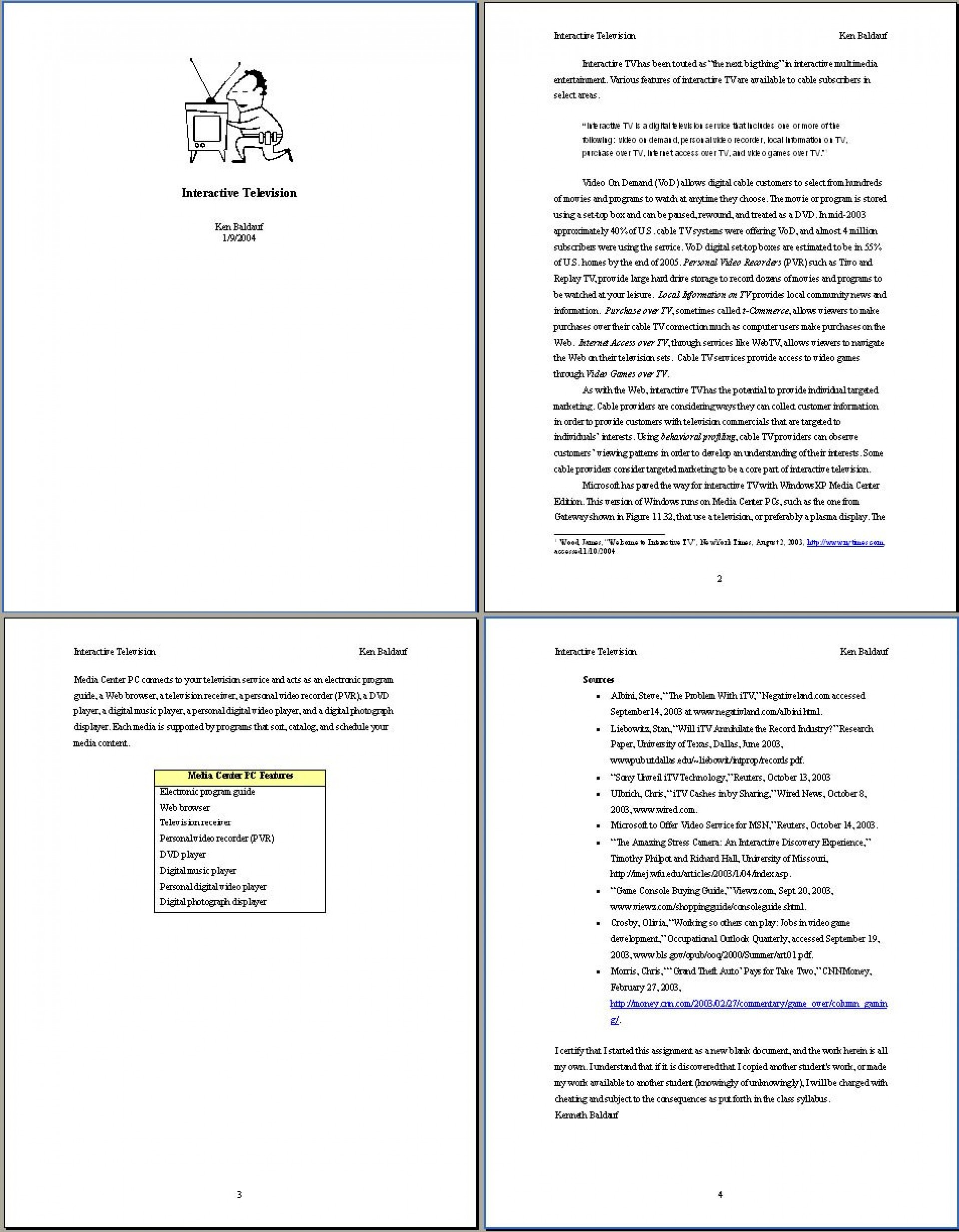 002 A1 Example Essay Apa Rare Format Writing Papers Examples Style Sample Paper 6th Edition 1920