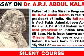 002 Abdul Kalam My Inspiration Essay Example Exceptional In English 400 Words Hindi