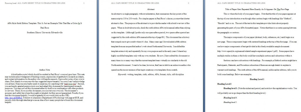 002 Apa Format Essay Template Preview Stupendous Papers Examples Word 2010 Large
