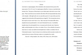 002 Apa Format Essay Template Preview Stupendous Papers Examples Word 2010