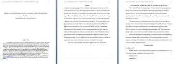 002 Apa Format Essay Template Preview Stupendous Example Title Page Sample Pdf 2017 360