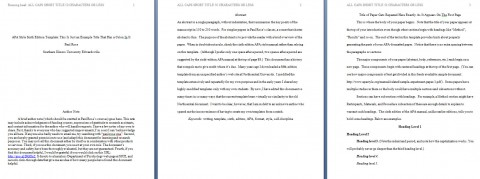 002 Apa Format Essay Template Preview Stupendous Example Title Page Sample Pdf 2017 480