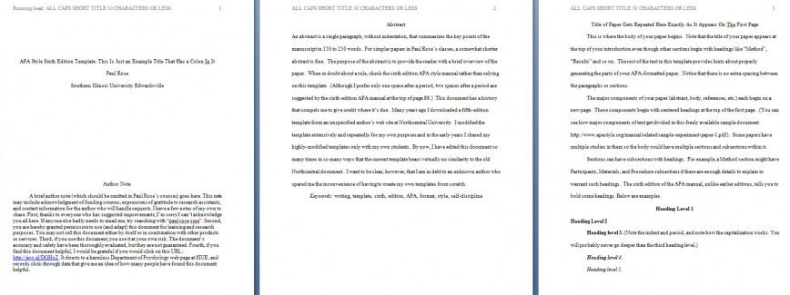 002 Apa Format Essay Template Preview Stupendous Example Title Page Sample Pdf 2017 868