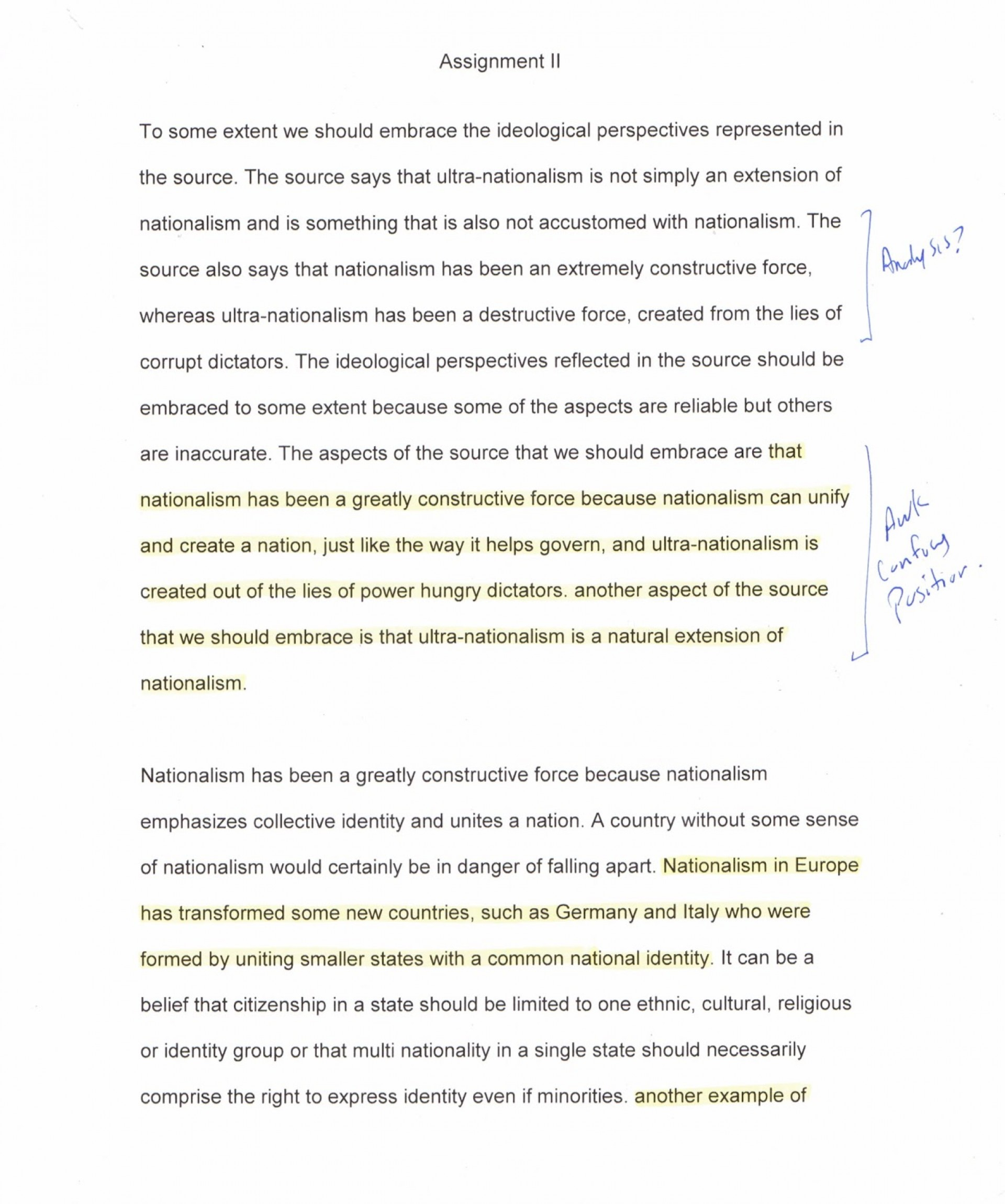 002 Assignment20ii20page201 Nationalism Essay Impressive Topics African Pdf 1920