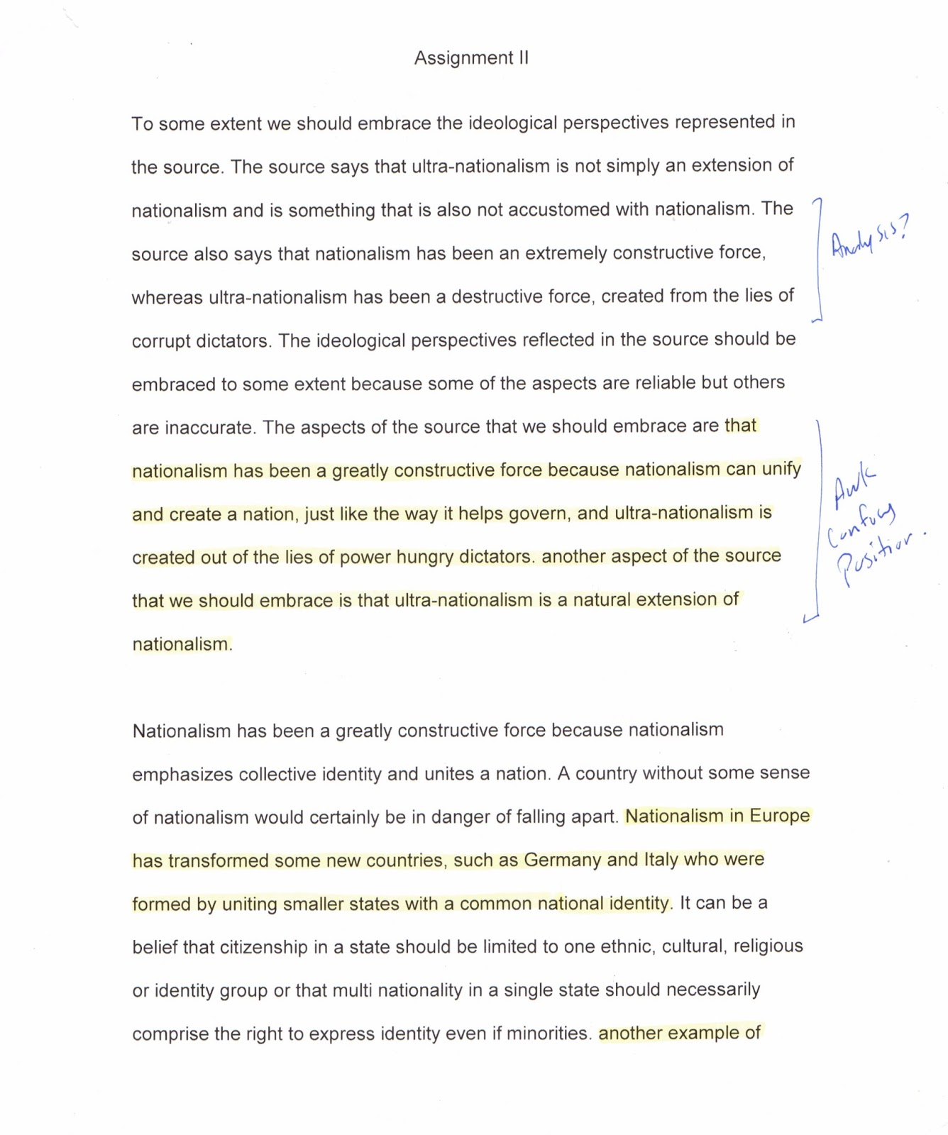 002 Assignment20ii20page201 Nationalism Essay Impressive Topics African Pdf Full