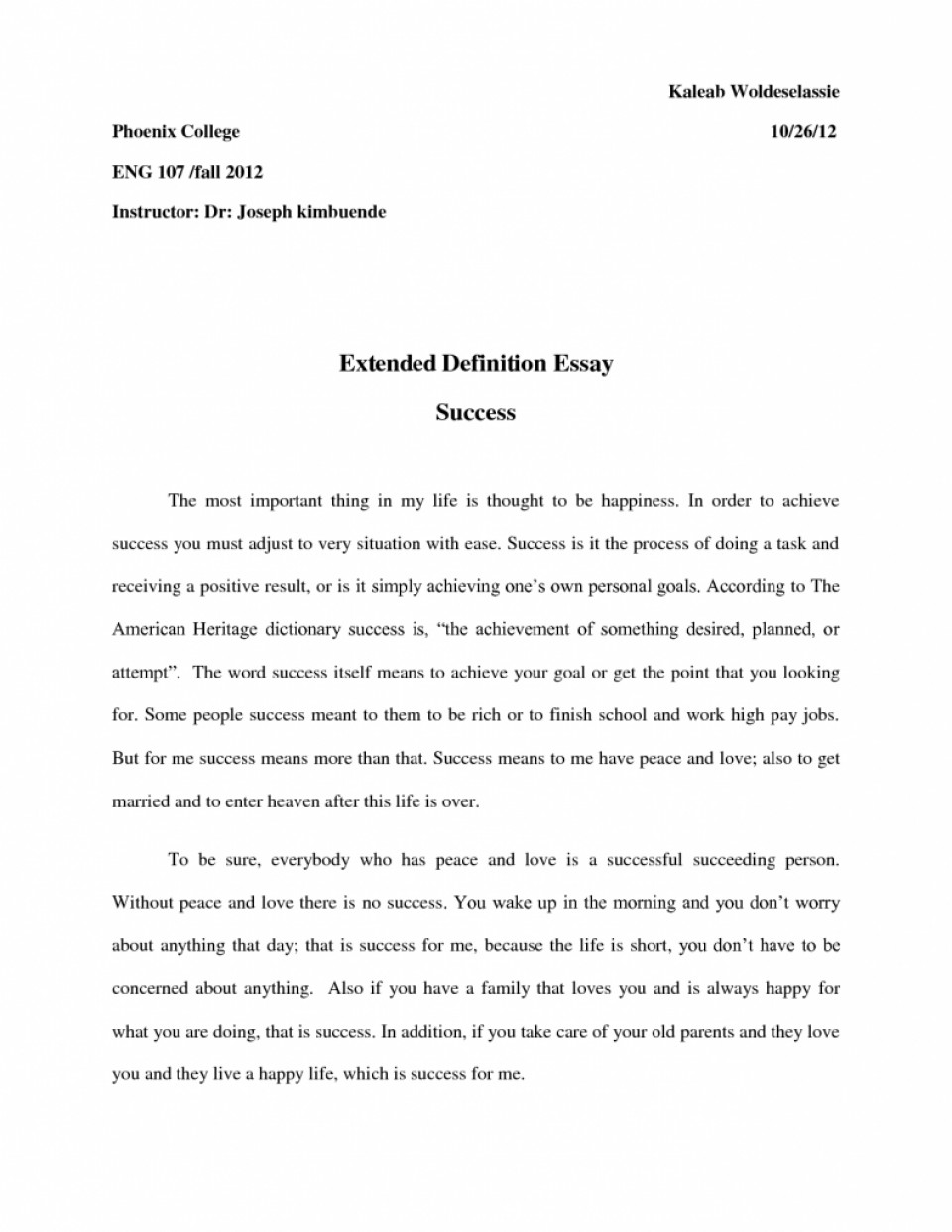 002 Best Soluti Success Definition Essays Perfect Invoice Template Word 791x1024 Extended On Impressive Essay 960