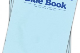 002 Books Blue Book Essay Magnificent Example Little Writing