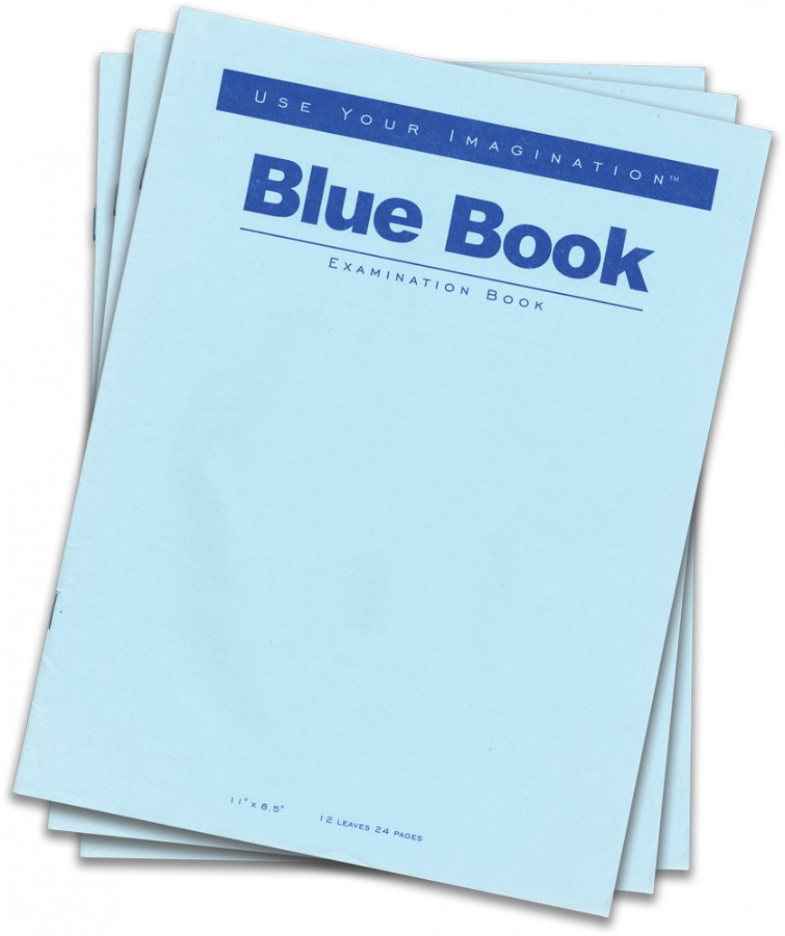 002 Books Blue Book Essay Magnificent Exams Format Example Cost