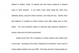 002 Bully Essay Questions Case Study Custom Term Paper Writing Argumentative About Bullying Introduction Img18 Topics In The Philippines Online Cyber With Body And Conclusion School Impressive Persuasive