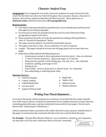 002 Character Essay 009629727 1 Wondrous Prompts Rubric Writing 360
