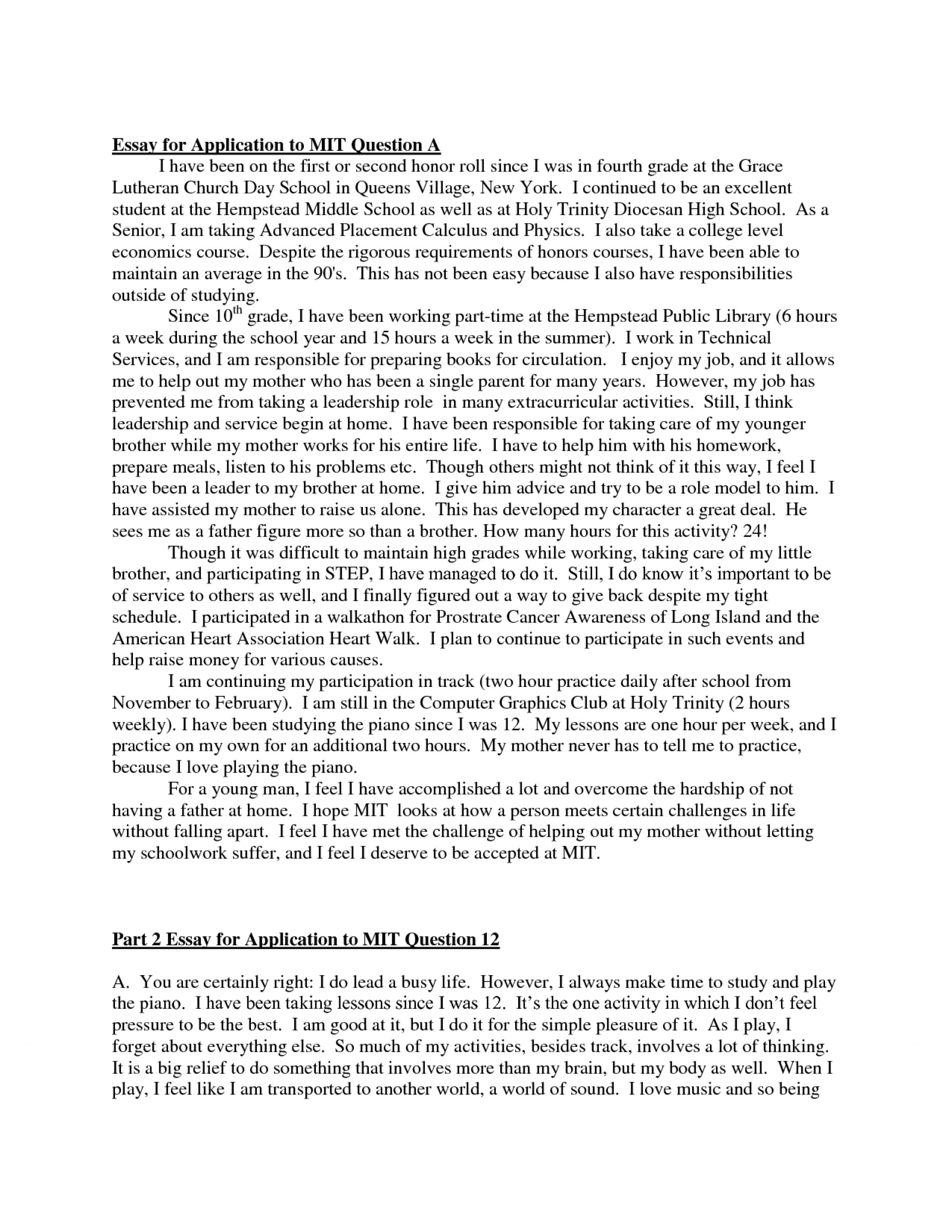 002 College Admission Essay Example Rare Prompts Format Examples Ivy League 1920