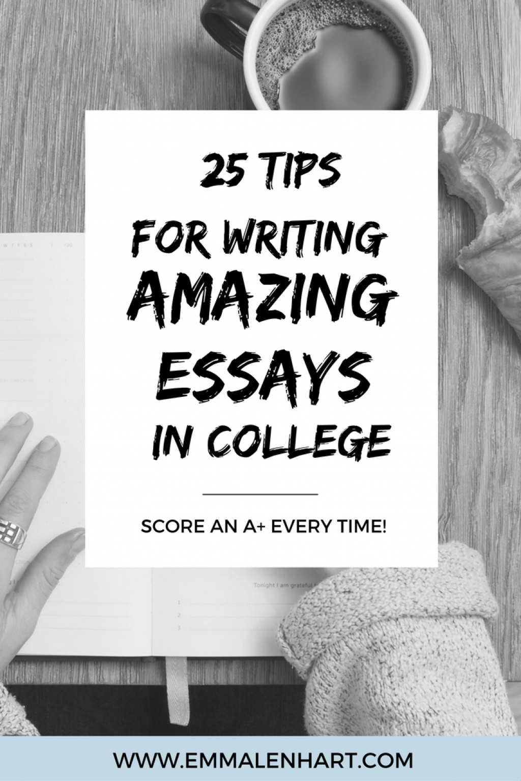 002 College Essay Writing Tips Example Imposing Video Application Large
