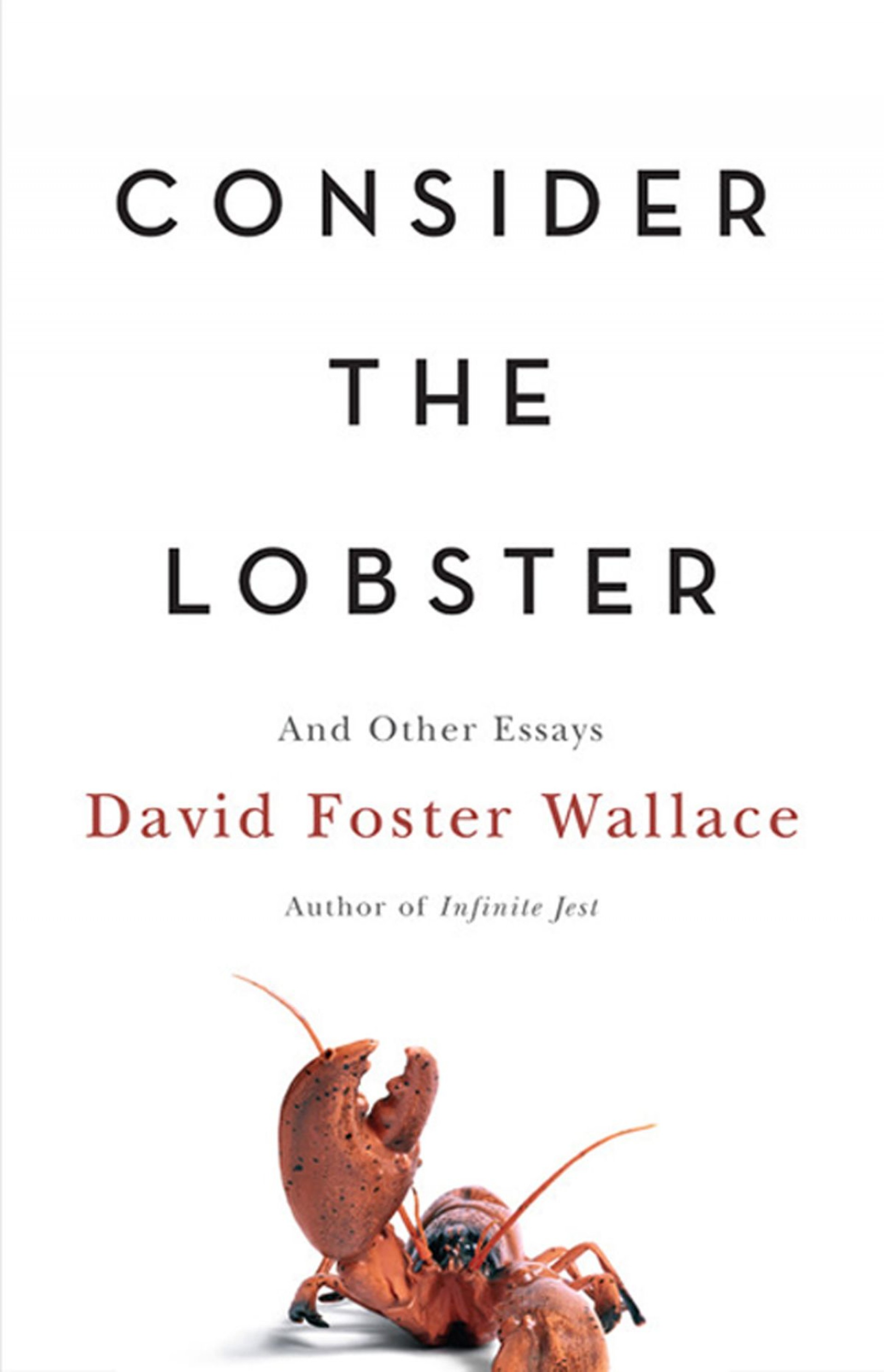 002 Consider The Lobster Essay Exceptional Rhetorical Analysis And Other Essays Summary 1920
