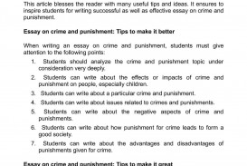 002 Crime And Punishment Essay P1 Wondrous Outline Pdf Ielts