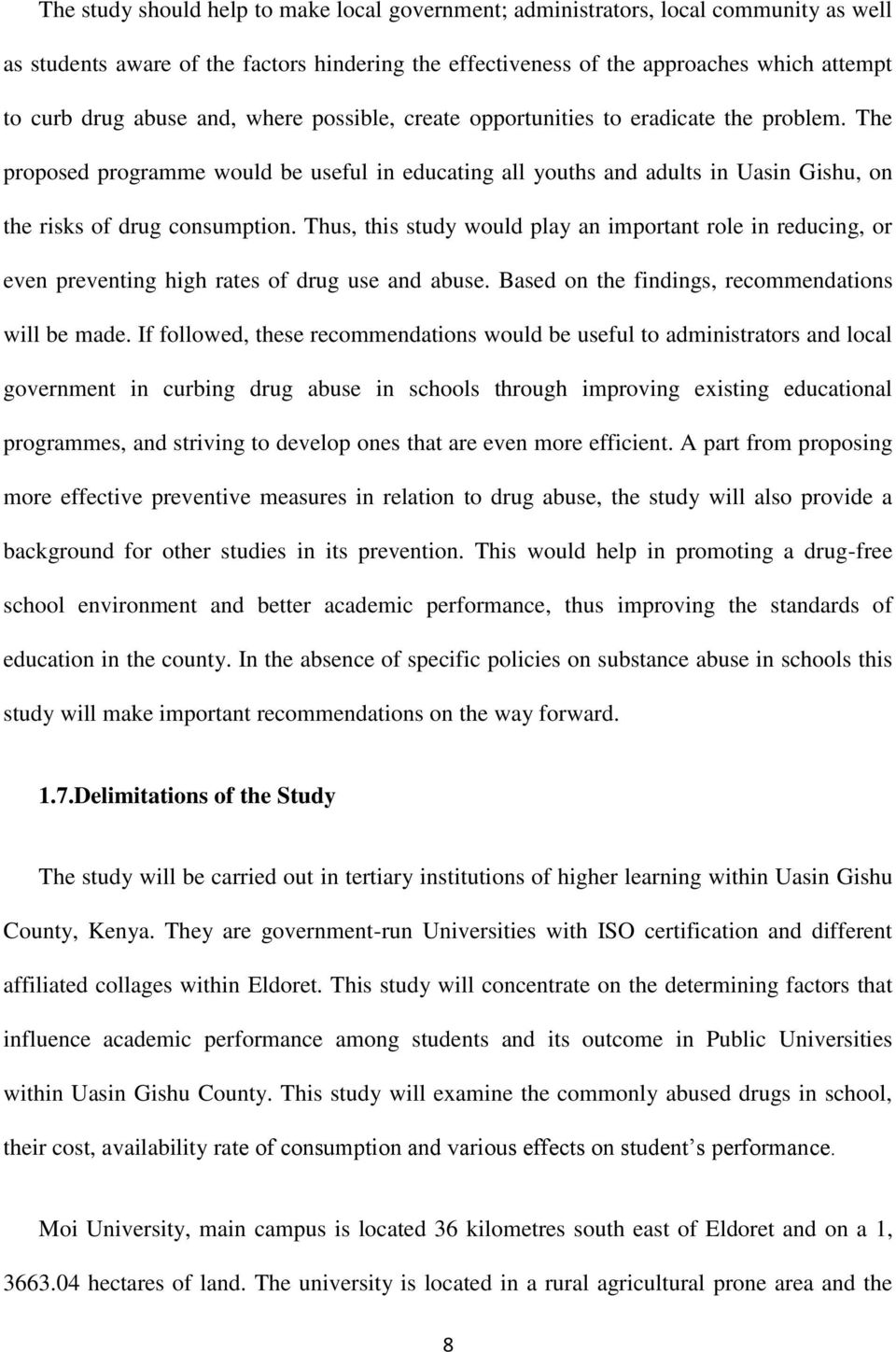 Essay on ethics and religion