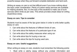 002 Essay About Car P1 Phenomenal My Career Choice Your Caring And Sharing