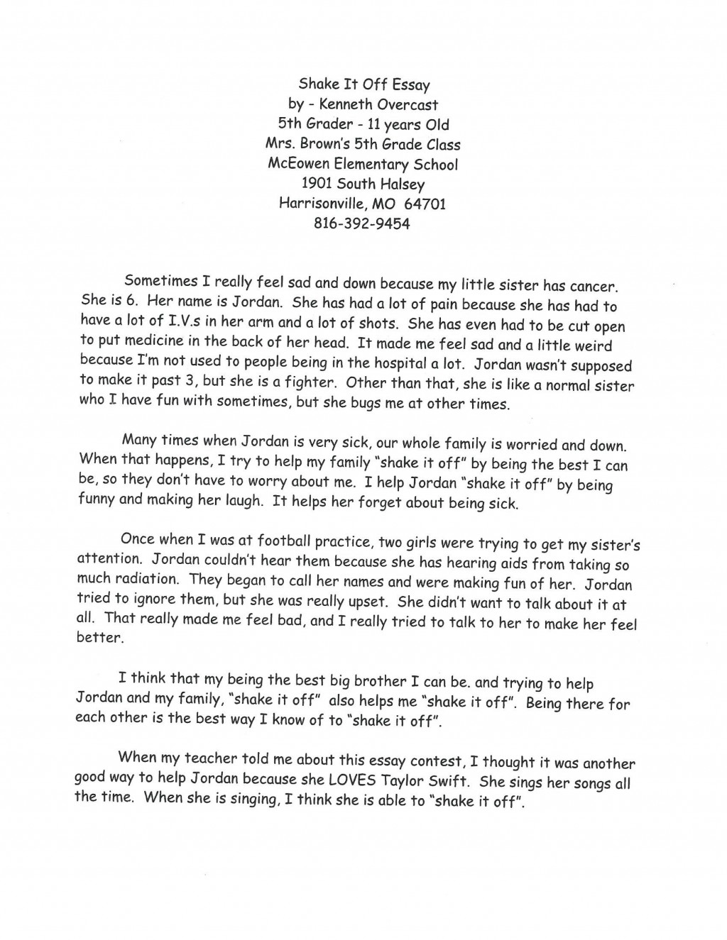 002 Essay About Losing Someone Example Fearsome A Friend College Large