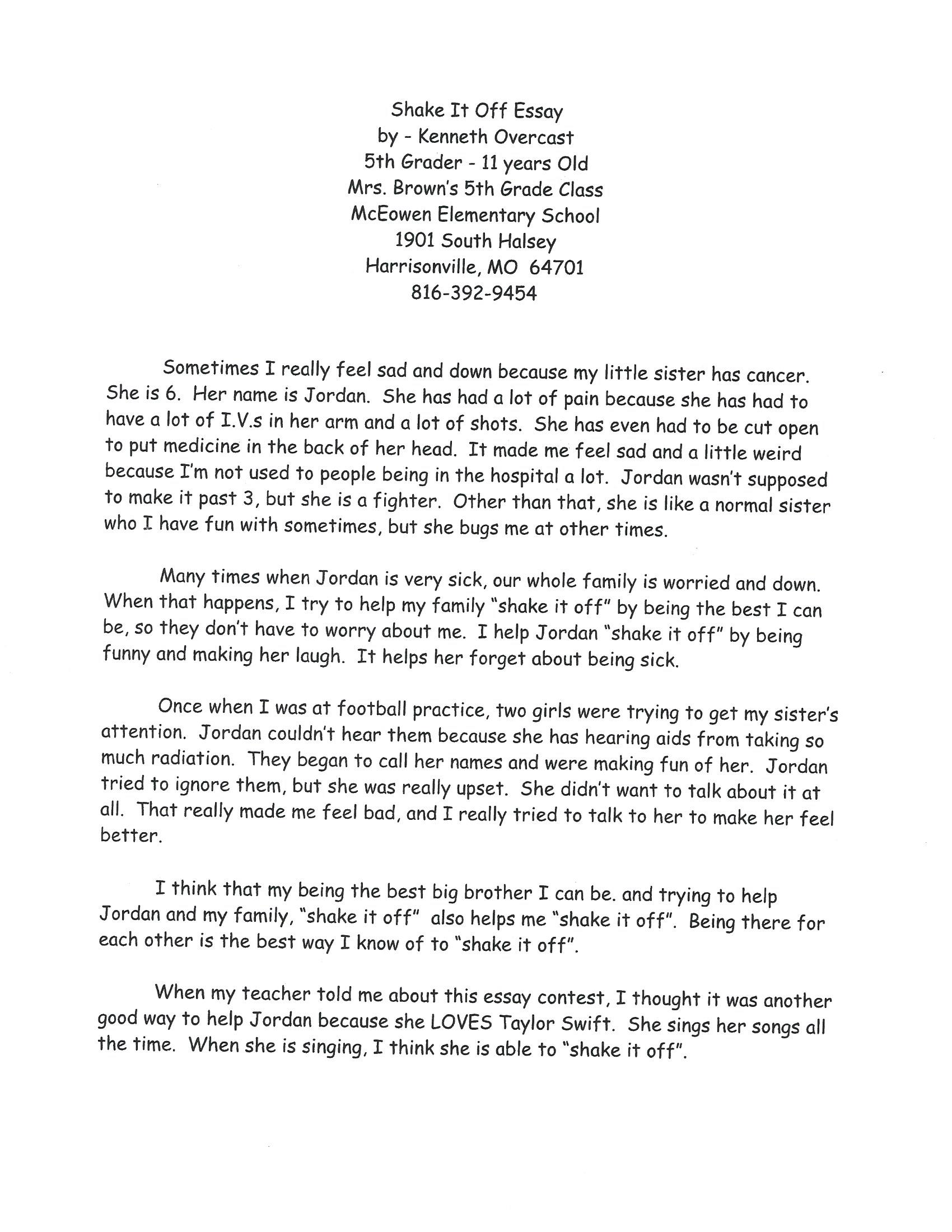 002 Essay About Losing Someone Example Fearsome A Friend College Full