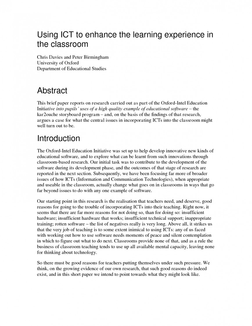 Ms word thesis