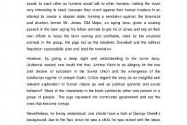 002 Essay Animalfarm Thumbnail Animal Farm Striking Questions Propaganda Conclusion Gcse
