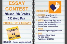 002 Essay Contests For High School Students Example Red Bank Crop Hunger Walk Contest Middle Competitions April Schoolers International Staggering 2017