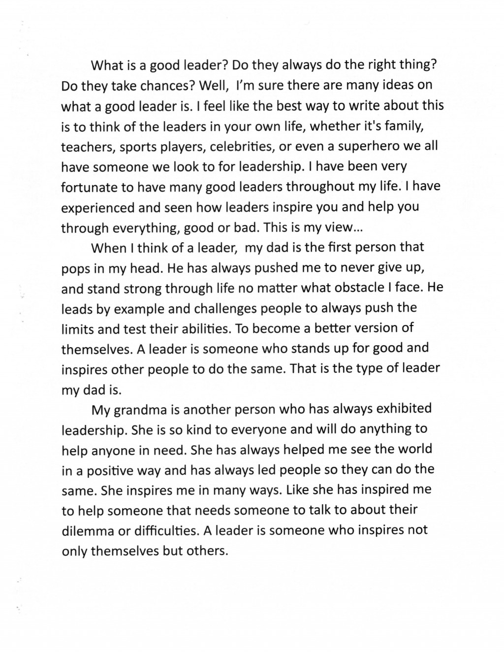 002 Essay Example 5th Grade Dare Outstanding Examples Winning Essays Large