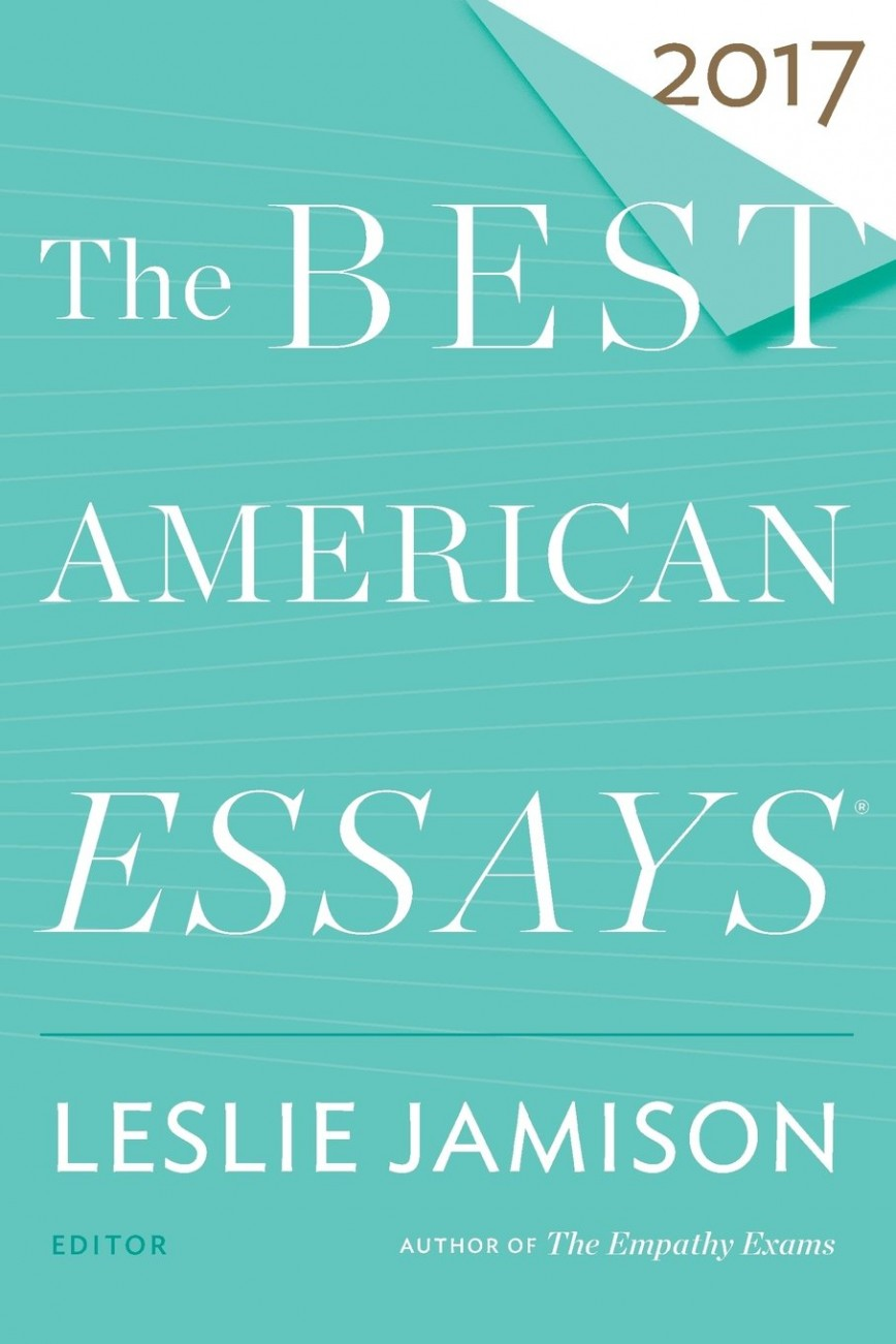 002 Essay Example 61tzl Nruvl The Best American Essays Phenomenal 2016 Pdf Download Audiobook Sparknotes 868